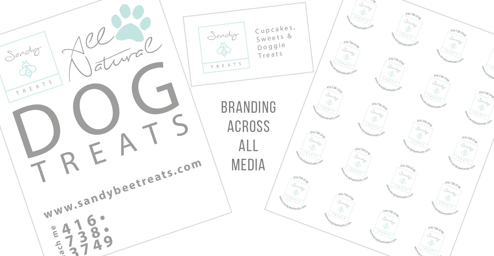 Branding – Sandy Bee Treats