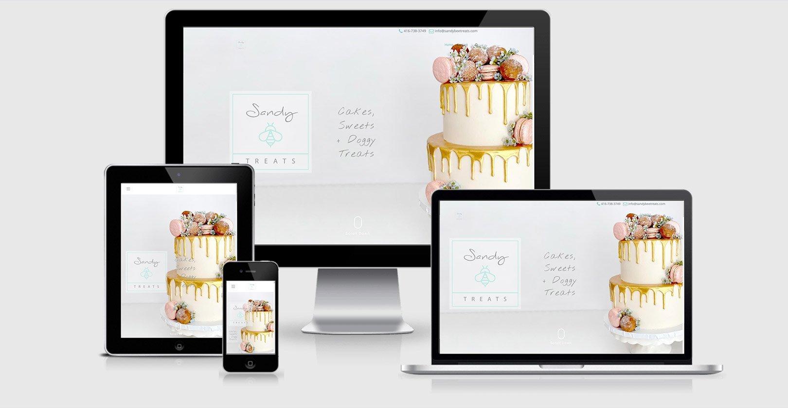 Website Redesign — Sandy Bee Treats